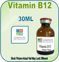 Vitamin B12 Injection 30ml Vial with 30 syringes